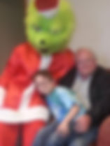 Holiday characters for hire, the grinch visits Columbus Ohio