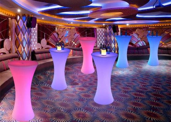 Columbus, OH Glow high top table rentals  Ohio LED high top table rentals