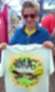 airbrushing t-shirts Columbus Ohio