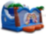 Surf theme bounce house party rentles
