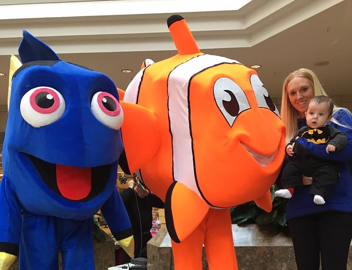 we found Nemo for your party or event in Columbus, Ohio
