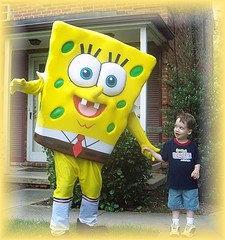 Columbus, Ohio Sponge bob Characters, Columbus Ohio party characters sponge bob Ohio