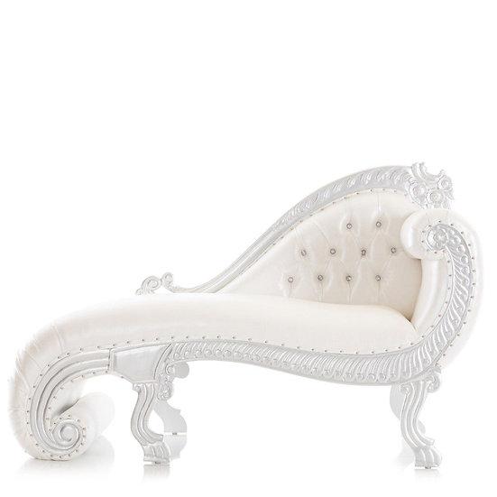 Royal White Chaise Throne Rentals Columbus Ohio Wedding Chair Rentals Newark Ohio