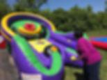Inflatable Skee Ball Rentals Columbus Ohio