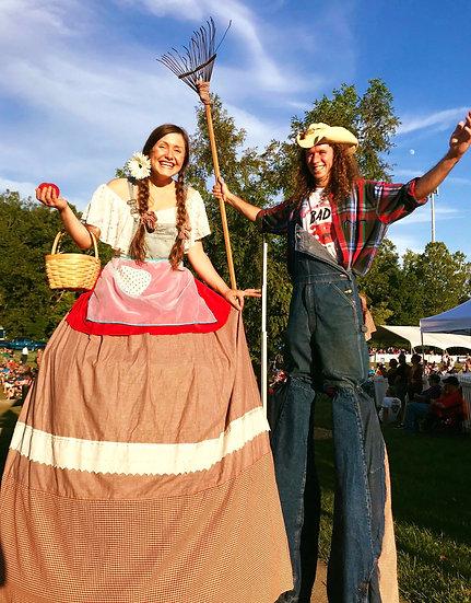 Ohio Stilt Walkers for hire, Columbus Ohio Stilt Walkers for events - corporate event entertainment