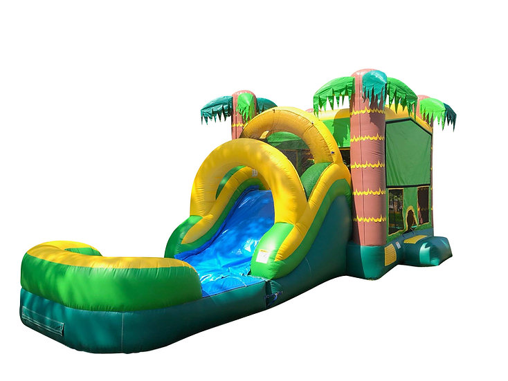 Tropical Themed Bounce House Rentals Columbus, Ohio Beach Themed Bounce House Rentals Ohio