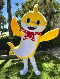 Columbus, Ohio baby shark for parties, party characters for hire Columbus