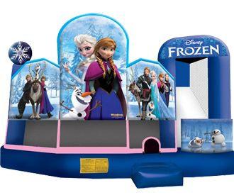 Frozen Themed Bounce Rentals Columbus Ohio Princess Themed Bounce Rentals Ohio
