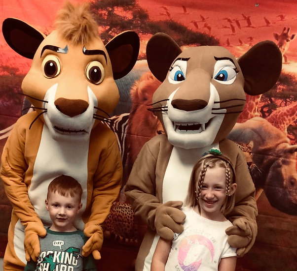 Bexley, Ohio Lion King party characters for hire, Colubmus ohio party characters for kids Ohio