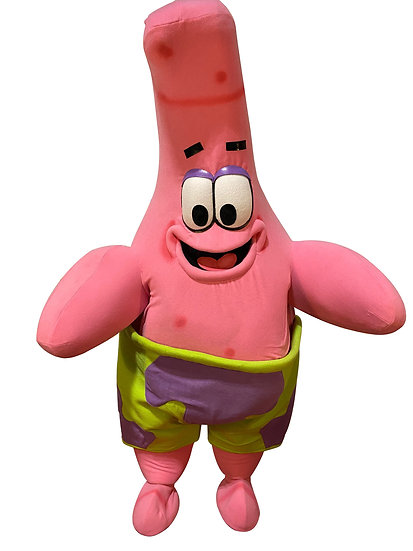 Columbus Ohio Patrick from SpongBob Impersonator character appearances