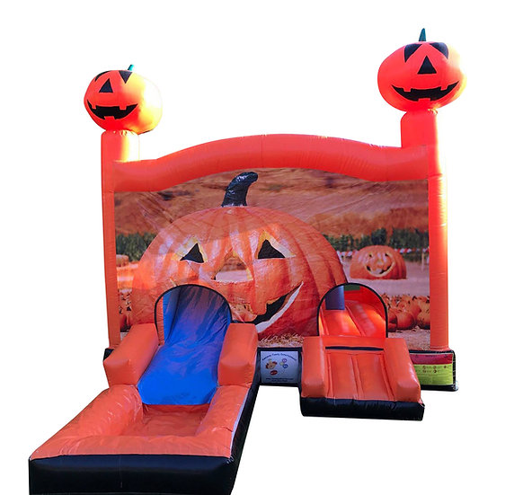 Columbus, Ohio Pumpkin Themed Bounce House Rentals, Worthington Ohio bounce rentals, Jack o'Lantern themed bounce rentals,