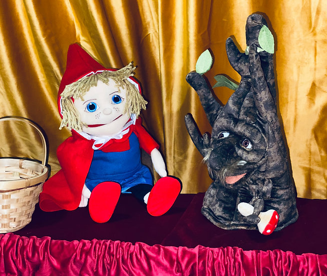 little red riding hood puppet show rentals Columbus, Ohio