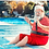 Ohio Christmas in July Santa Claus rentals Columbus, Ohio Santa Claus on vacation themed, Ohio Santa Christmas in July Rental