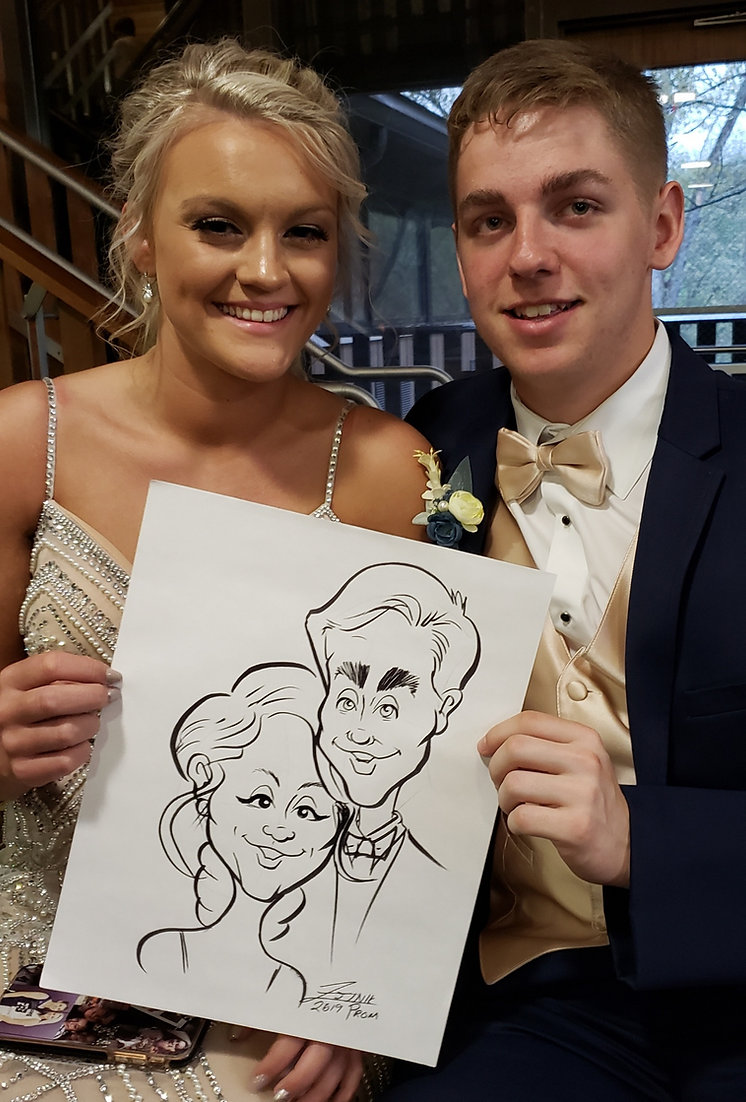 Caricature Artists Ohio For Hire Cariacture Art For Events Parties Columbus