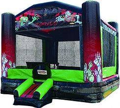 Ohio Zombie Bounce House Rentals, Teenager bounce rentals, Columbus Ohio bounce house rentals for parties and events.
