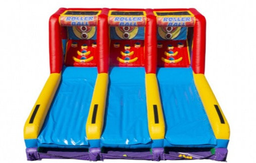 Columbus, Ohio Inflatable Skee Ball Rentals, Columbus, Ohio Inflatable Game Rentals Ohio