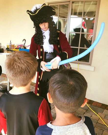 Columbus, Ohio Captain Hook impersonators for hire, Party Characters for events, pirate characters Ohio