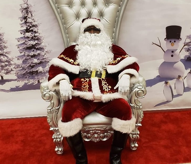 Black Santa Claus, Columbus Ohio black Santa, Ohio African American Santa for hire.