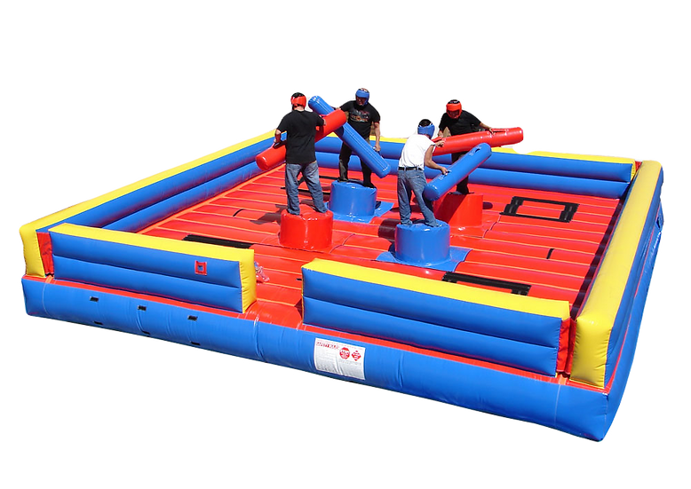 Inflatable Gladiator Jousting Rentals Columbus Ohio Jousting Rental - College Events - Grad Parties - High School Parties OH