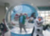 Columbus,  Giant Inflatable Snow Globe Rentals