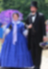 Abraham Lincoln Columbus Ohio impersonator