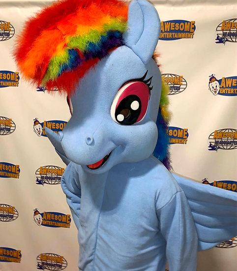 Columbus, Ohio rainbow dash party character rentals, Columbus Ohio birthday characters Springfield Ohio