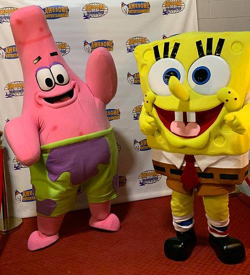 Columbus Ohio sponge bob party character rentals  Colubmus Ohio