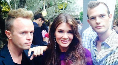Lisa Vanderpump Paris Hilton with C.E.O Curtis Lovell II and Thor T. of Awesome Entertainment of Ohio