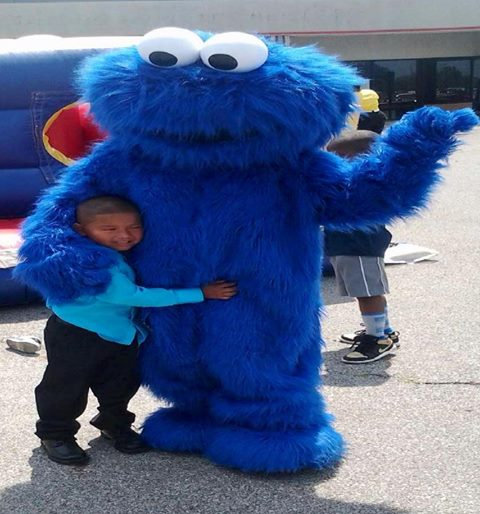Ohio Cookie Monster character rentals - event planning Ohio - childrens party characters Ohio