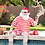 Ohio Christmas in July Santa Claus rentals Columbus, OH Santa Claus on vacation themed, Ohio Santa Christmas in July Rental