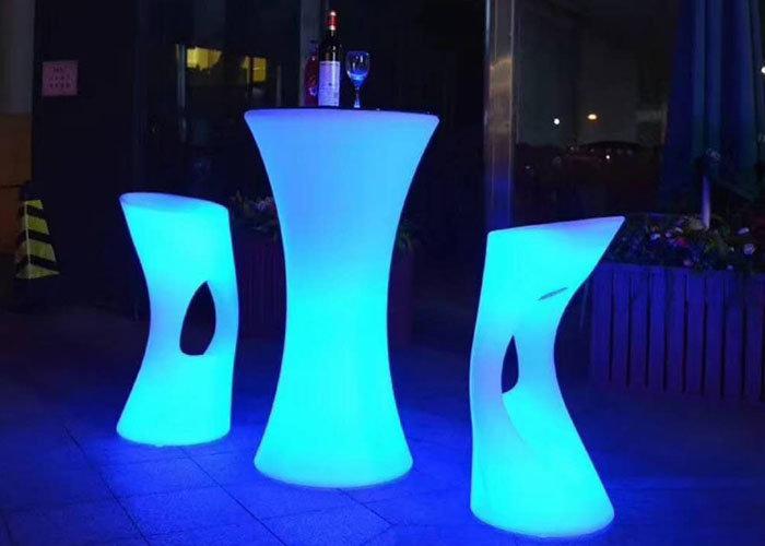 LED barstool rentals Columbus Ohio glow decor