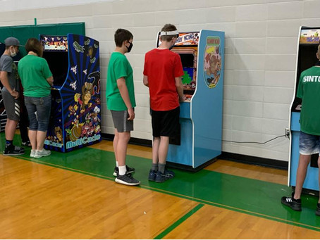 What's better than a Game Truck... your very own Throwback Arcade!