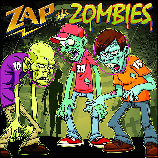 Zap Zombie Carnival Game Rentals Columbus Ohio carnival games for parties