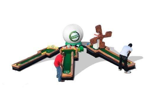 Inflatable Golf Rentals - Ohio Miniature Golf Rentals - Columbus Ohio Putt Putt Golf Rentals