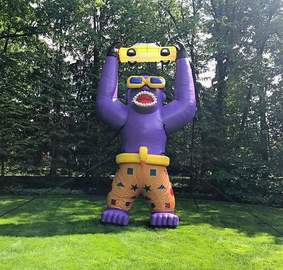 Gorilla Ohio Giant Inflatables for Rent - Advertisement inflatables for companies- promotion inflatables  Columbus, Ohio