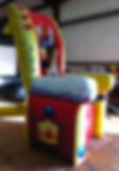 Giant Inflatable Birthday Chair Rentals - Columbus Ohio