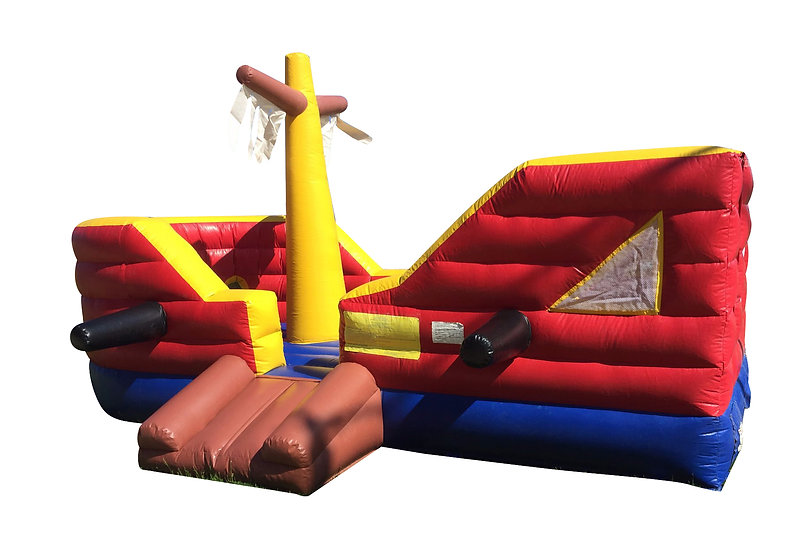 Ohio Pirate Ship themed bounce house rentals Columbus Ohio pirate ship bounce house rentals Ohio