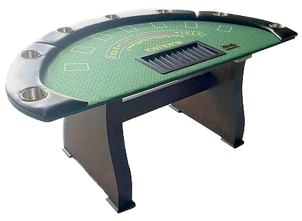 Columbus, Ohio Casino Party Rentals - Ohio Las Vegas Themed Parties - Blackjack Table with Dealer Ohio