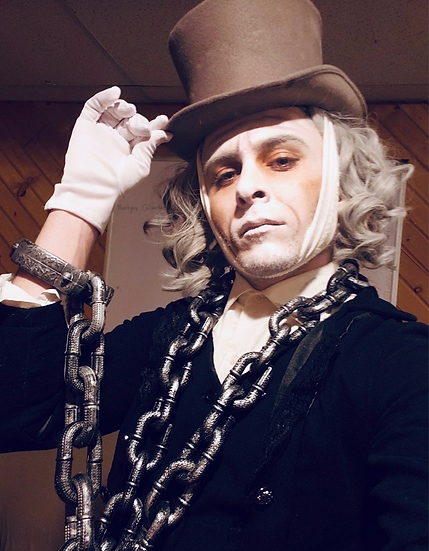 Columbus, Ohio Ghost of Jacob Marley - A Christmas Carol Ghost - Christmas Ghost Actor - For hire - Character Actors for hire