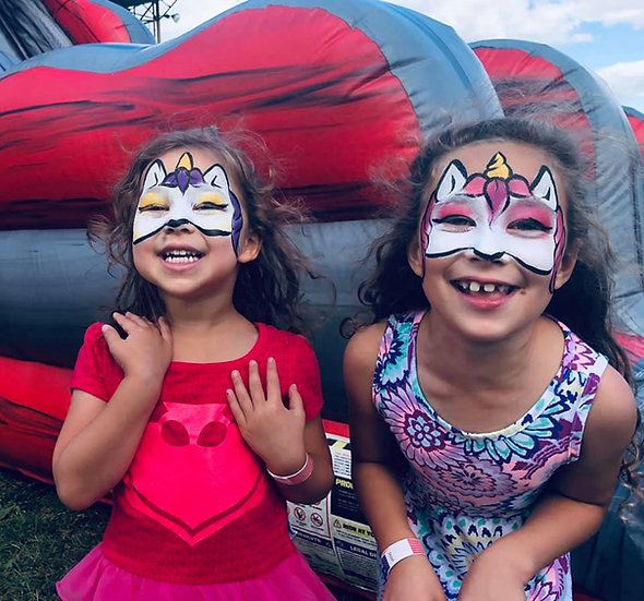 Columbus, Ohio Face Painters for Hire, Columbus, Ohio Face Painting for parties and events
