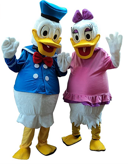 party characters for hire, Donald Duck rentals. Ohio cartoon characters for hire, party character rentals Columbus, Ohio