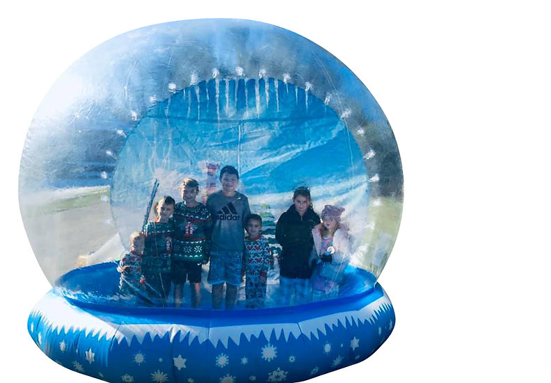 Columbus, Ohio Human Snow Globe Rentals - Giant Inflatable Snow Globe Rentals Ohio