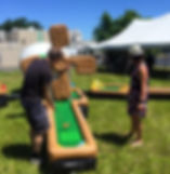 Inflatable Putt Putt course rentals