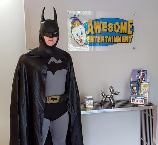 Columbus Ohio Batman party character for hire, Columbus Ohio Birthday characters