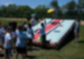 Giant Inflatable Corn Hole