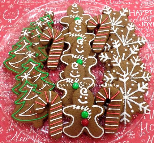 Christmas  Platter- 19 Cookies