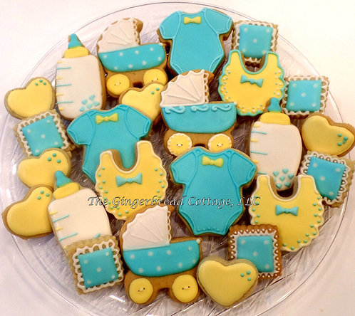 Baby Cookies - 30 Cookie Platter