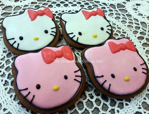 Hello Kitty Cookies - Half Dozen