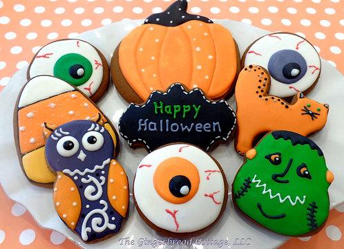 Halloween Cookie Platter- Dozen