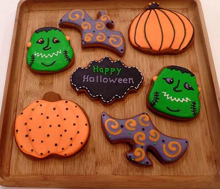 Halloween Cookies Dozen